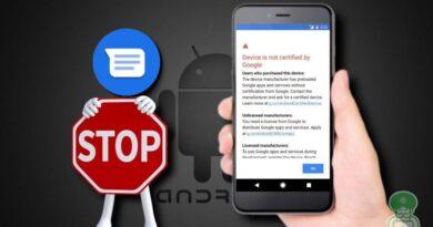 google-dispositivo-non-certificato