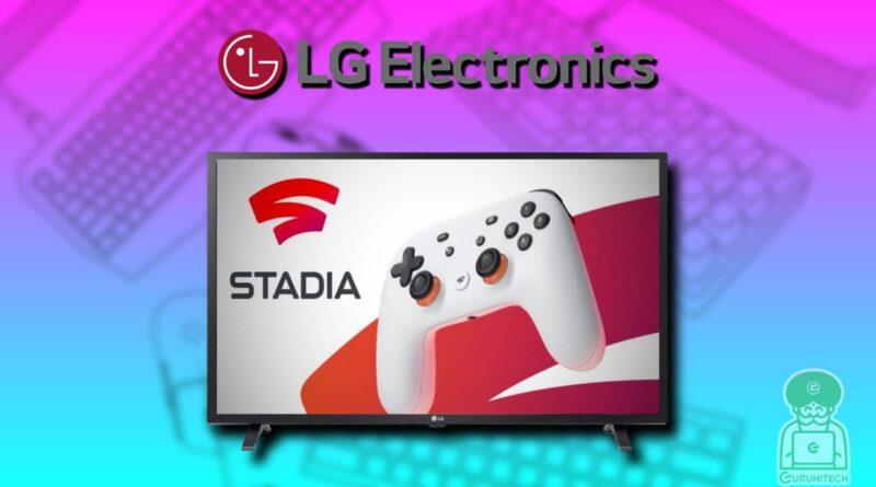 google-stadia-su-lg-tv
