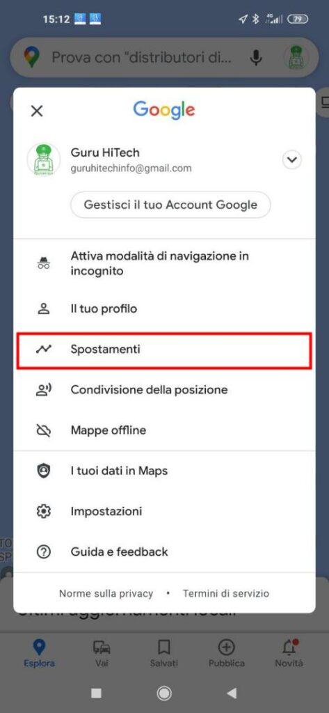 tracciamento google 2