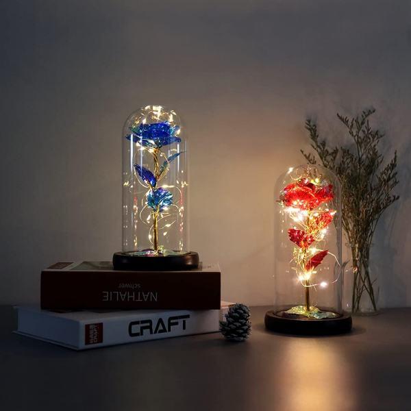 lampada hexup fiore di vetro