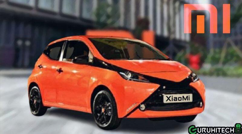 automobile elettrica XiaoMi
