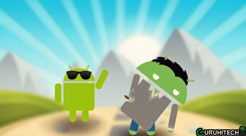 ripulire android